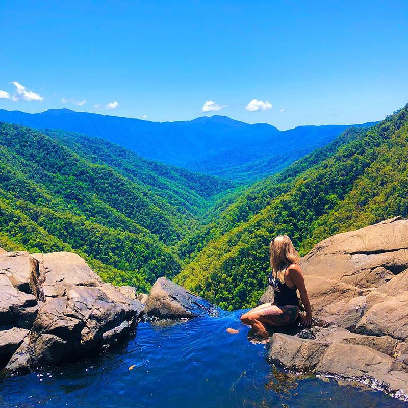 windin falls wooroonooran national park