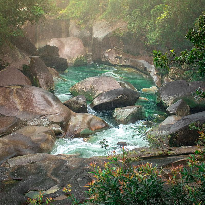 wooroonooran national park babinda boulders